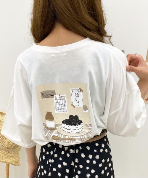 apres jour(アプレジュール)の「アソートロールアップTシャツ【ZOZOTOWN限定アイテム】(Tシャツ/カットソー)」|ホワイト系その他2