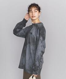 <THE NORTH FACE PURPLE LABEL>タイダイプリントロングスリーブTシャツΨ