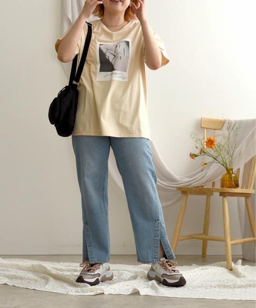 ポラロイドプリントTシャツ