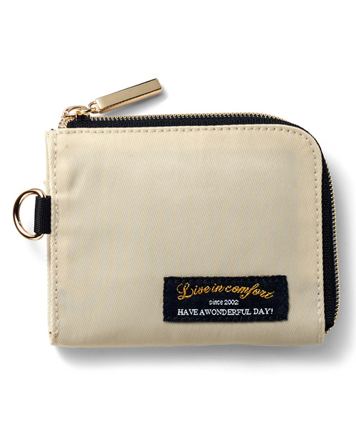 size 40 0cfcd 46d37 リブ イン コンフォート ちょっとそこまでに便利な ちび財布