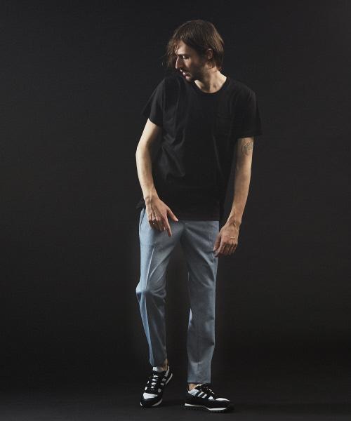 【クルーネック】プライマリースムース半袖Tシャツ