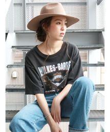 Ungrid(アングリッド)のイーグルウォッシュビッグTee(Tシャツ/カットソー)