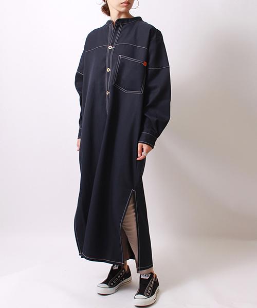 おすすめ [UNIVERSAL OVERALL/ユニバーサルオーバーオール] FACTORY JEANS JF別注ブッチャーワンピース(シャツワンピース) レディス,JEANS|UNIVERSAL OVERALL(ユニバーサルオーバーオール)のファッション通販, 革小物市場 「ディスタンス」:751db86f --- 5613dcaibao.eu.org