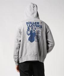 KILLER LOOKSパーカーグレー