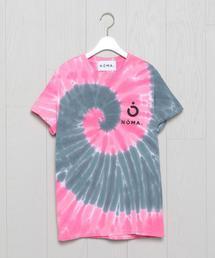<NOMA t.d.>TIE DYE MOTIF T-SHIRT/Tシャツ