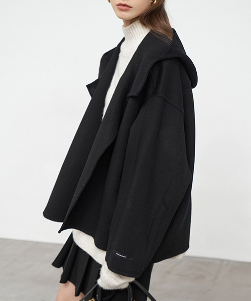 【Fano Studios】【2021AW】Hooded short river coat FD20W208