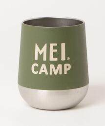 WEBメディア CAMP HACK 掲載 【 MEI CAMP / メイキャンプ 】 サーモラウンドタンブラー ステンレス 保温 保冷カーキ