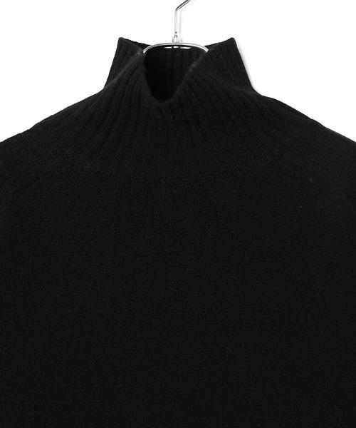 ADAM ET ROPE'(アダムエロペ)の「ヤク タートルネックニット(ニット/セーター)」|詳細画像