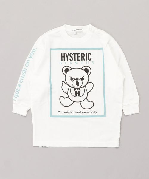 HYS BEAR pt ビッグTシャツ【XS/S/M】
