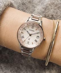 xC クロスシー ティタニアライン ハッピーフライト(エコ・ドライブ電波時計 ワールドタイム)(腕時計)