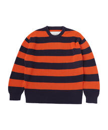 UNITED ARROWS & SONS(ユナイテッドアローズ&サンズ)STRIPE CREW NECK