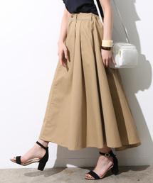 ViS(ビス)の【WEB限定】チノ&デニムボリュームスカート(スカート)