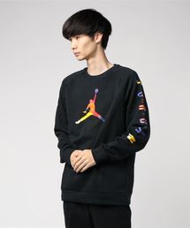 NIKE(ナイキ)の【NIKE】M J SPRT DNA HBR FLEECE CREW AV0044-010(スウェット)