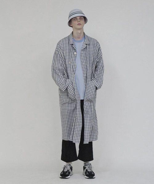 最上の品質な 2020春夏 Check Check coat(ステンカラーコート)|wonderland(ワンダーランド)のファッション通販, ノダガワチョウ:dd531564 --- kredo24.ru