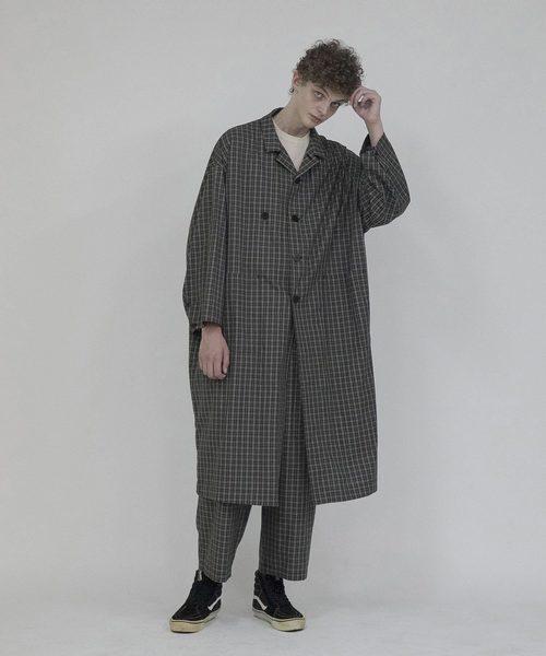 激安人気新品 2020春夏 Check coat(ステンカラーコート) Check|wonderland(ワンダーランド)のファッション通販, やまぼうし:7edd1740 --- kredo24.ru
