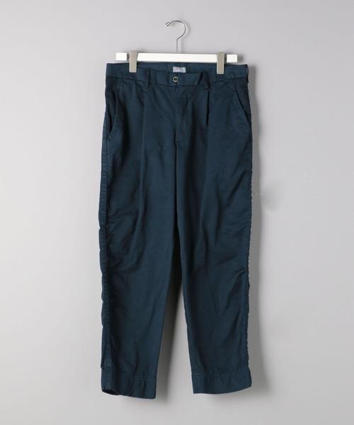 <kolor/BEACON(カラー・ビーコン)>コットン パッカリング パンツ