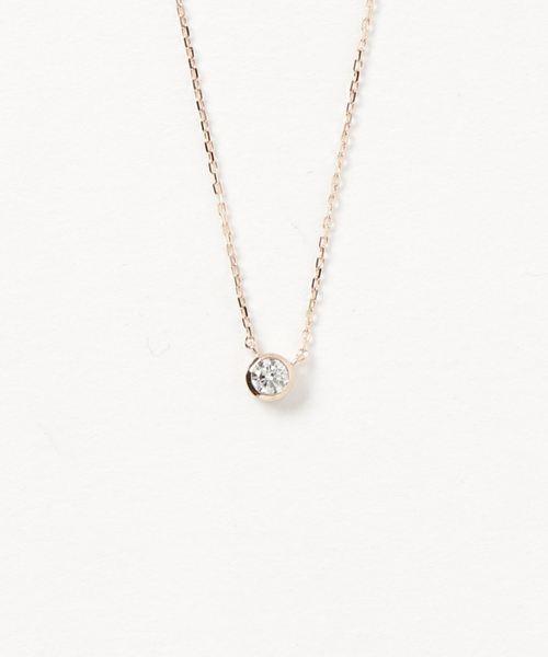 【最新入荷】 K18 ダイヤモンド 0.15ct ネックレス「ブライト」, ネルパラ 6f6fcbc5