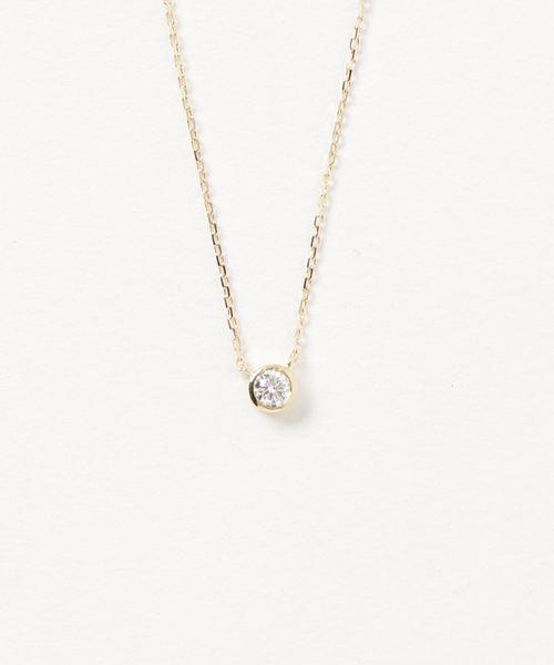 芸能人愛用 K18 ダイヤモンド 0.15ct ネックレス「ブライト」, HANEYA Design -ハネヤデザイン- acc9355e