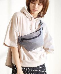 【CONVERSE WAIST BAG】コンバース リップ ロゴ ウエストミニバッググレー
