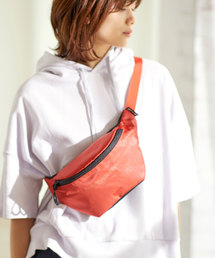 【CONVERSE WAIST BAG】コンバース リップ ロゴ ウエストミニバッグオレンジ