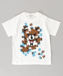 JIGSAW BEAR Tシャツ【XS/S/M】アイボリー