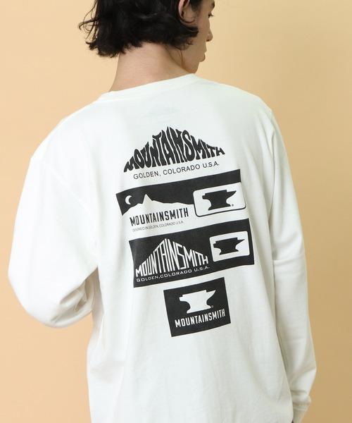 ∴【 MOUNTAIN SMITH / マウンテンスミス 】2020AW MS History long リサイクルコットン カットソー ロングスリーブTシャツ ロンT
