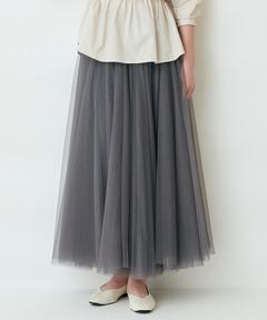【THE CHIC】チュールボリュームギャザースカート