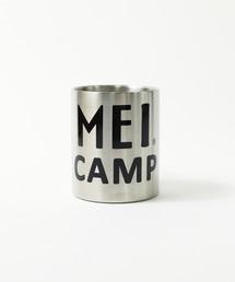 【 MEI CAMP / メイキャンプ 】 カラビナハンドルステンレスマグ マグカップシルバー
