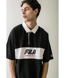 <FILA × monkey time> RUGBY SHT SS/ラガーシャツ