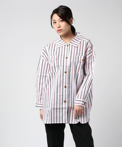 Wポケアソートシャツ