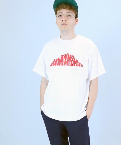 【 MOUNTAIN SMITH / マウンテンスミス 】19SS FRONT BIG LOGO T フロント ビッグTシャツ