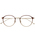 LOVE BY e.m. (ラブバイイーエム)の「Zoff×LOVE BY e.m. eyewear collection 「Ball」(メガネ)」|ブラウン