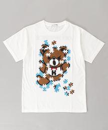JIGSAW BEAR Tシャツ【L】アイボリー