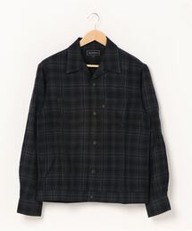 オープンカラーシャツブラック系その他