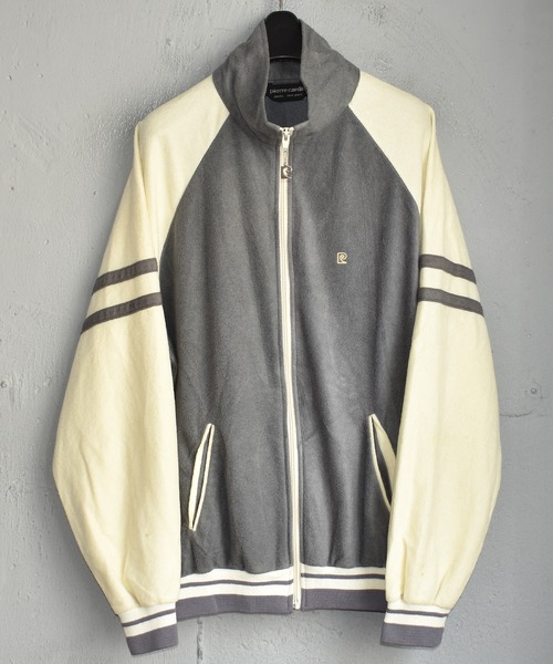 【ヴィンテージ古着】80's Pierre Cardin/ピエールカルダン フルジップ トラックジャケット