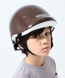こども ビームス(コドモ ビームス)の「nicco×こども ビームス / 別注 キッズ ヘルメット 2 (49~54㎝・2~6才)(スポーツグッズ)」