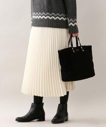 MACKINTOSH PHILOSOPHY(マッキントッシュ フィロソフィー)の★★スエードタッチ プリーツスカート(スカート)