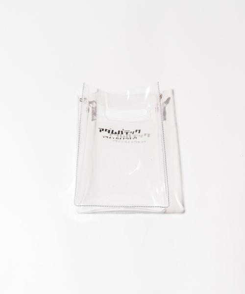 ADAMPATEK / アダムパテック 【 CONEY 】CLEAR mini pouch shoulder