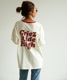GRIEZ(グリーズ)の【GRIEZ】リンガープリントロングスリーブTシャツ(Tシャツ/カットソー)