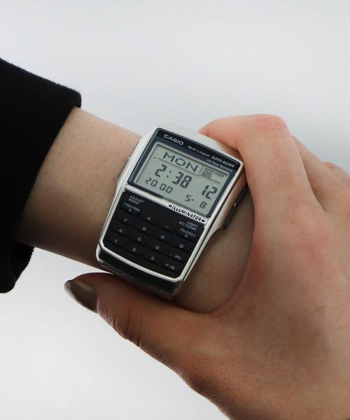 【 CASIO / カシオ 】 データバンク デジタル 腕時計 電卓 DBC32D1A DKS