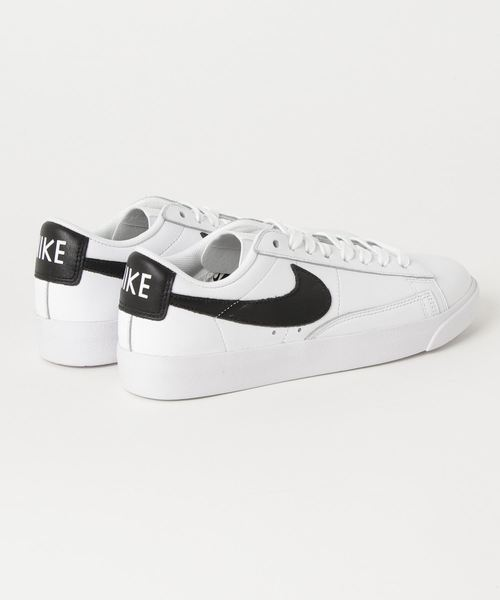 NIKE W BLAZER LOW LE (WHITE/BLACK) 【SP】