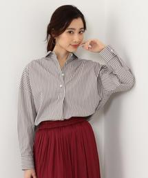 <yangany>C/NYストライプ BIGシャツ