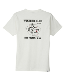 HYS CLUBポケット付きTシャツホワイト