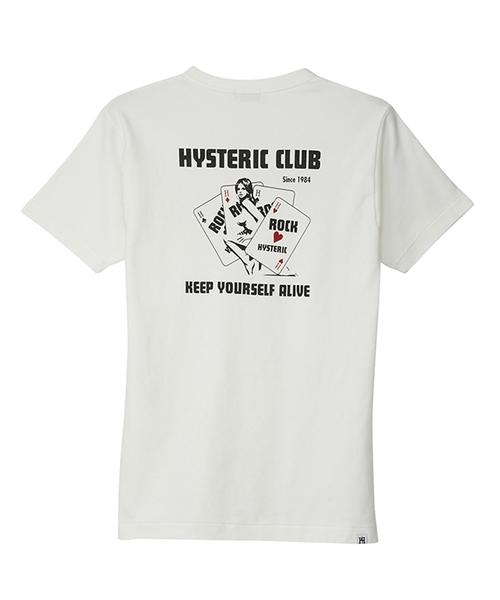 HYS CLUBポケット付きTシャツ