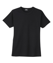 HYS CLUBポケット付きTシャツブラック