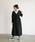 Auntie Rosa Holiday(アンティローザホリデー)の「【Holiday】リネン混カシュクールガウンワンピース(ワンピース)」|ブラック