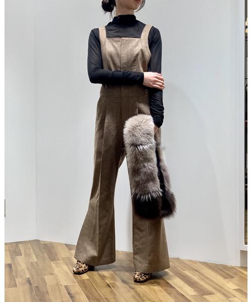 低価格で大人気の ラメツィードサロペット(パンツ) NINE(ナイン)のファッション通販, MOVE:7de173c1 --- arguciaweb.com