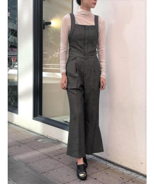 65%OFF【送料無料】 ラメツィードサロペット(パンツ)|NINE(ナイン)のファッション通販, スタンプラボ インフィニティ:f417ed9b --- arguciaweb.com