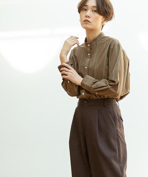 【WEB限定追加生産・ムック本掲載】ブロードバンドカラー ロングシャツ