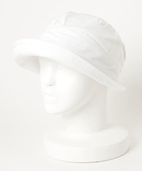 ST:ANTI-5 BALL HAT ハット/バケットハット 抗菌/抗ウイルス/消臭/防粉/帯電防止